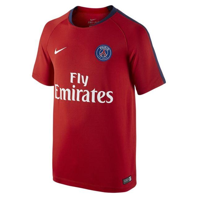 b2089b1c78151 Nike - Maillot de football Paris Saint-Germain Flash Training Junior ...