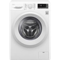LG - F74J53WH - Lave linge frontal - 7kg - 1400 tours / min max - A+++ - Moteur induction Direct Drive