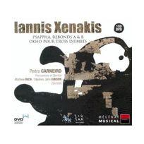 Zig Zag Territoires - Iannis Xenakis: Psappha Rebonds A B Okho pour trois djembés DualDisc