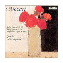 Claves - Mozart W A : Quatuor A Cordes K387 & K465, Adagio Et Fugue K456