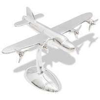 Rocambolesk - Superbe Décoration sous forme d'avion en aluminium pour bureau neuf