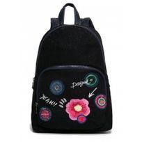 Desigual - sac à dos scolaire femme fille - Lima yeah - Noir