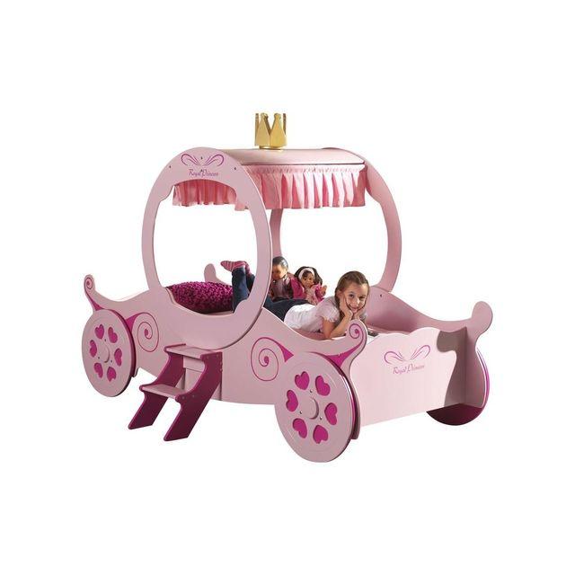 Vipack Funbeds Lit carrosse Princesse Kate