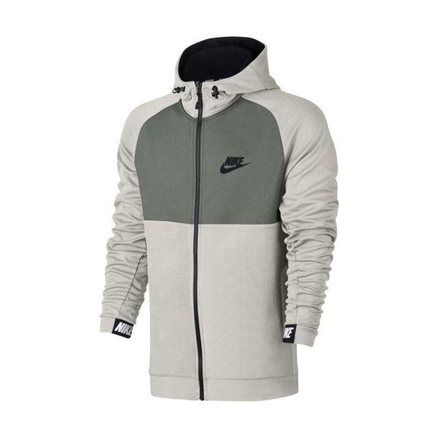 6c62bbb680f7 Nike - Sweat à capuche Sportswear Advance 15 - 861742-072 Beige ...