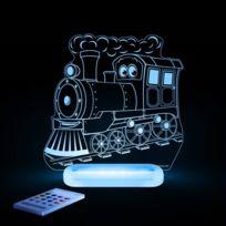 Aloka - Train-lampe-veilleuse Led H17cm Transparent