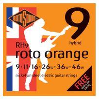Rotosound - Rh9 Hybrid 09-46 Orange - Jeu de Cordes guitare électrique