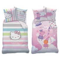 Housse couette hello kitty 200x200 achat housse couette - Housse de couette hello kitty 200x200 ...