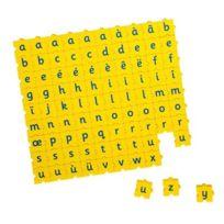 Morphun - Sachet de 90 lettres minuscules 3 x 3 cm