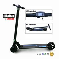 COOL AND FUN - Trottinette électrique, mini scooter électrique, smart scooter Noir