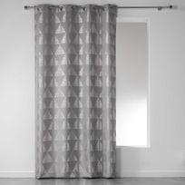 rideaux gris argent - Achat rideaux gris argent pas cher - Rue du ...