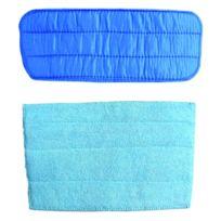Bob home - Pack de lingettes microfibres haute densité pour nettoyeur vapeur Bob-Home 2927