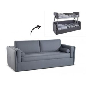 linea sofa canap 3 places convertible lit superpos. Black Bedroom Furniture Sets. Home Design Ideas