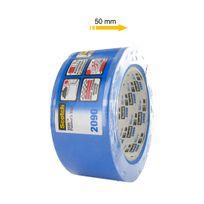3M - Ruban de masquage 2090 50mm x 50m bleu