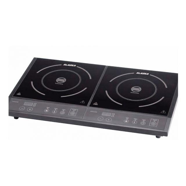 Tarrington House Double plaque de cuisson à induction 1400 + 2000W Commandes sensitives - Avec minuteur