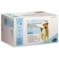 Zoetis - Pack 4 X Eliminall Chiens 10-20 Kg 134 Mg 6 Pipetes