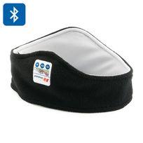 Shopinnov - Ecouteurs Bluetooth 3.0 Kit mains libres Bandeau de sport molletonné