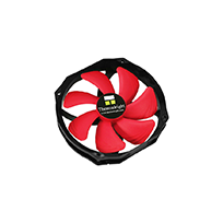 Thermalright - Ventilateur 140 mm - Pwm - 105 Cfm max - Ty-149 - Noir & Rouge