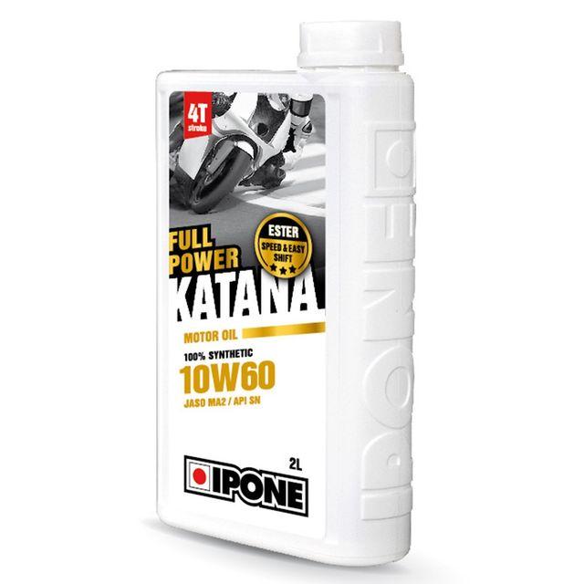 ipone huile moteur full power katana 10w60 bidon de 4 l achat vente huiles moteurs 4t pas. Black Bedroom Furniture Sets. Home Design Ideas