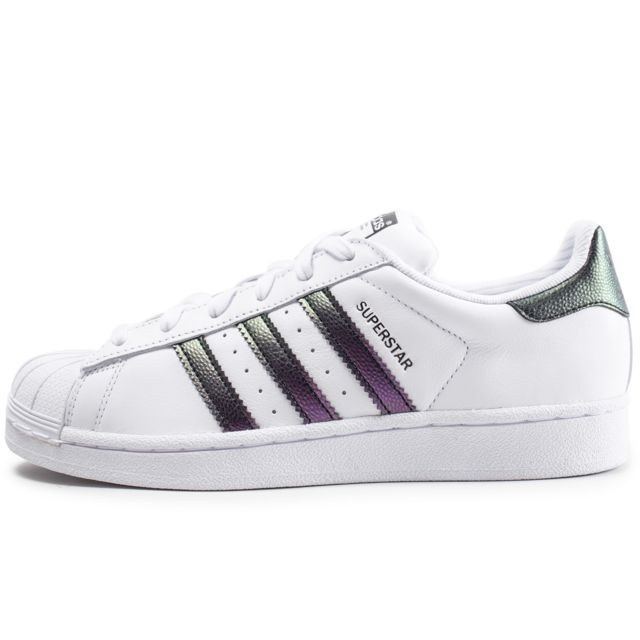Cher Pas Blanche Superstar Et Originals Adidas Iridescent Junior xFn1qR