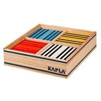 Kapla - Pack 100 Planchettes - 8 Couleurs