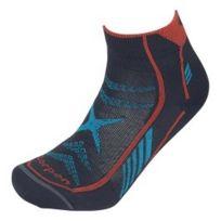 Lorpen - Chaussettes T3 Ultra Trail Running gris bleu