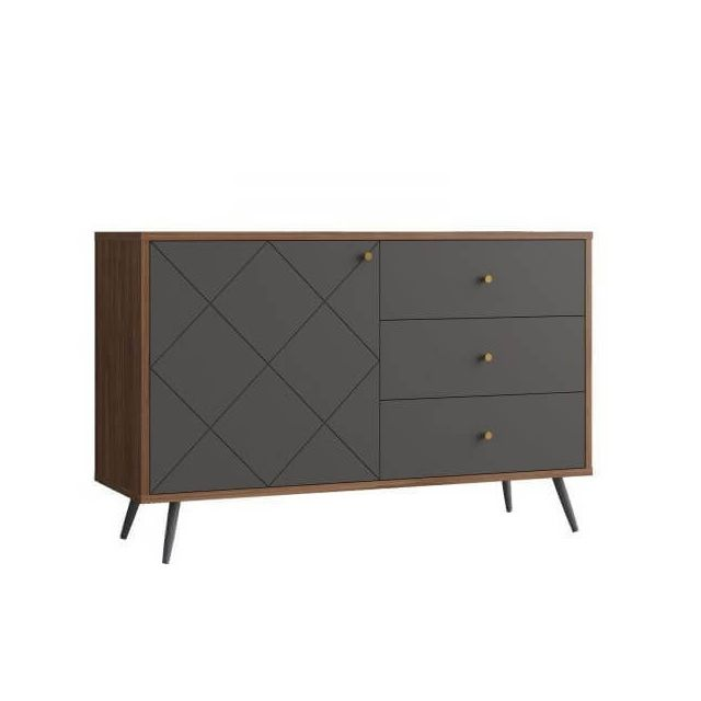 Mathi Design Sveg - Buffet scandinave gris