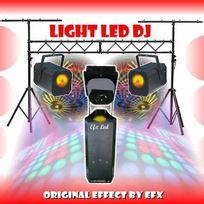 Ibiza Light - Pack Dj Led Light Scan + Portique Jeux De Lumiere A Prix Fou