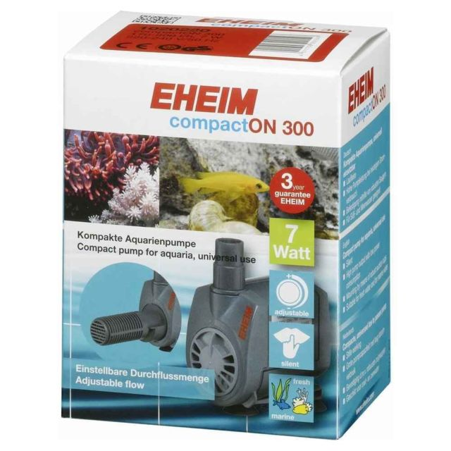 Eheim Pompe à Eau CompactON 300 pour Aquarium