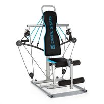 CAPITAL SPORTS - Tubey Mini Homegym Station de musculation -bleu