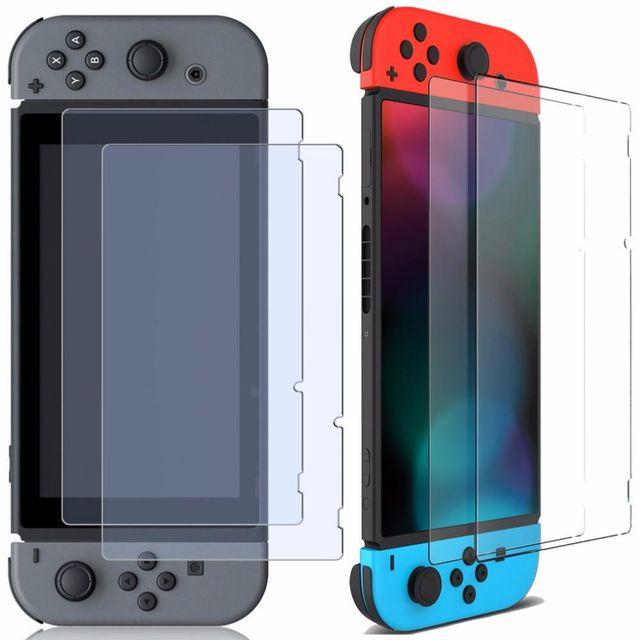 Inexstart - Protection d?Ecran en Verre Trempé Contre les Chocs pour Console Nintendo Switch