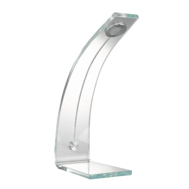 Kit A Faire Lampe De Bureau Design En Verre Blanc Pas Cher Achat