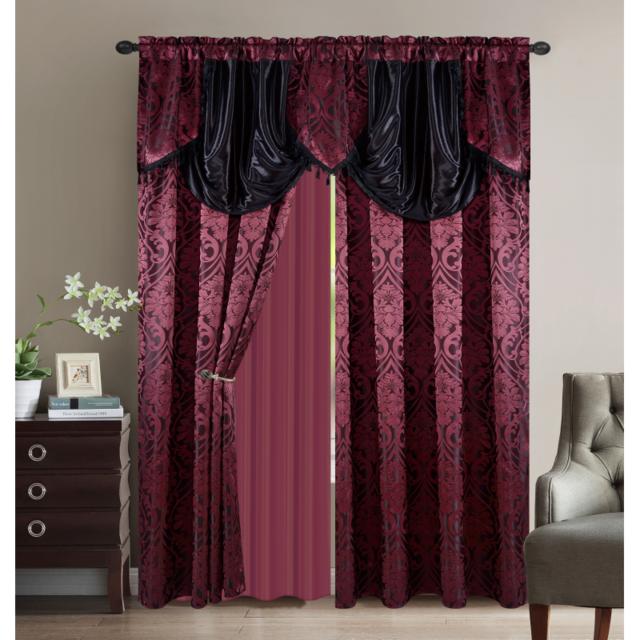 Sweethome paire de rideaux oriental largeur 300 x Rideaux largeur 55 cm