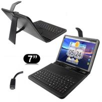 Yonis - Housse clavier universelle tablette tactile 7 pouces support Micro Usb