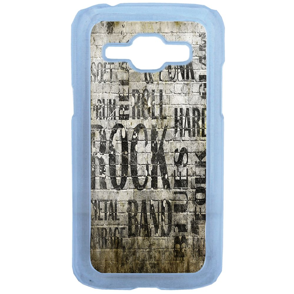 Lapinette - Coque Rigide Rock And Punk Pour Samsung Galaxy J1