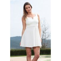 Dresscode - Dress Code Robe allyson R1165-6 Blanc