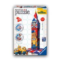 Ravensburger - Puzzle 3D 216 pièces : Big Ben Minions