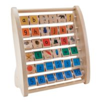 Elc - 117541 - Jouet De Premier Age - Boulier Alphabet Early Learning Centre