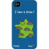 Hihihi - Coque rigide bleue Normandie I have a dream pour Apple ... 0c414a98b726