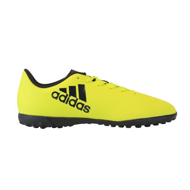 Adidas X 17.4 Tf J Jaune pas cher Achat Vente