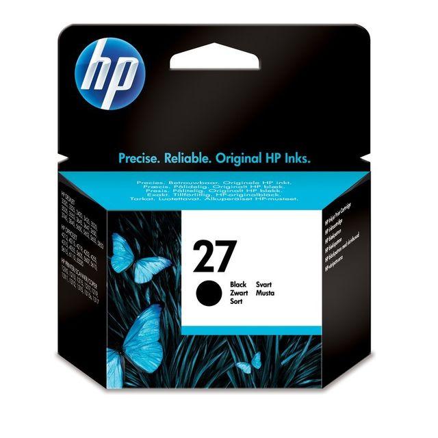 HP Cartouche d'encre Noir 27 - C8727A