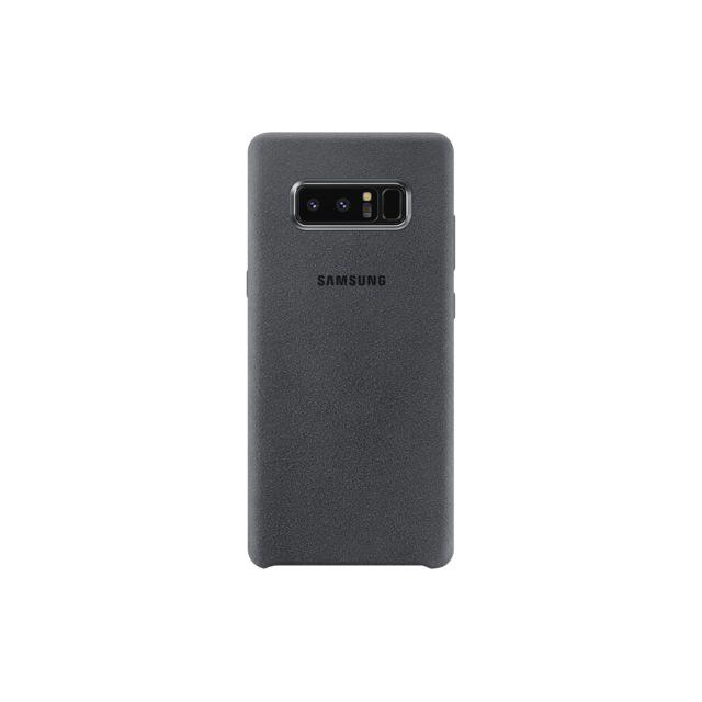 Samsung Alcantara Cover Galaxy Note 8 - Gris fonce