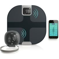 TEFAL - Balance impédancemètre Body Partner - YD3090S1 - Noir