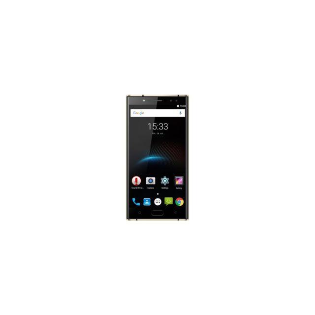 Auto-hightech Smartphone 5.5 pouces octa core avec Android 7.0, 4G et Wifi - Noir