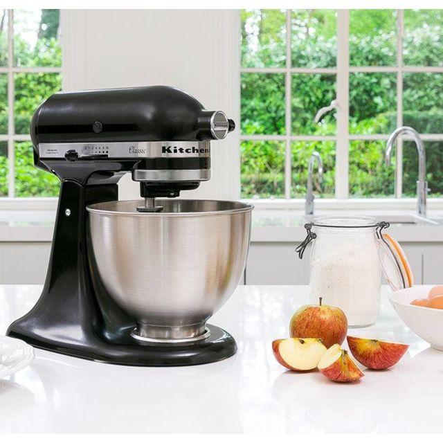 Kitchenaid robot multifonction de 4,3L 275W noir argent