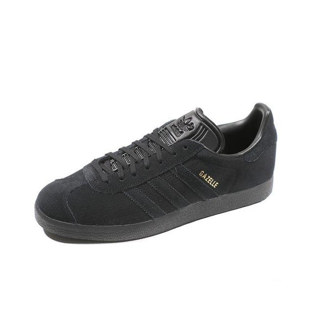 Adidas - Chaussures Gazelle Noir Homme Noir 44 2/3 - pas ...