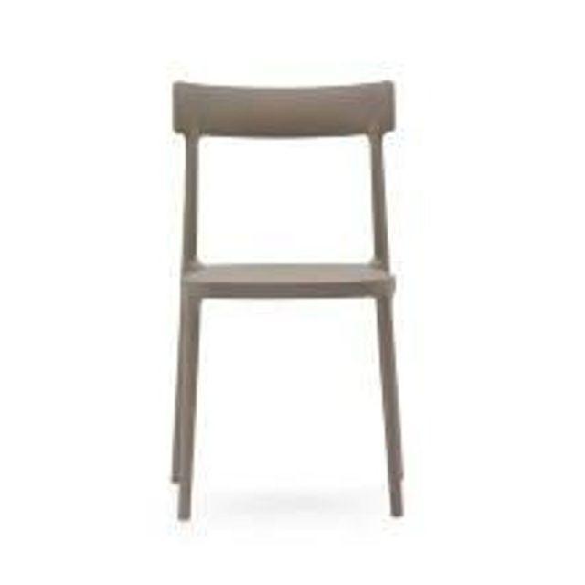 inside 75 chaise empilable argo grege gris pas cher achat vente chaises rueducommerce - Chaise Empilable