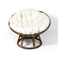 Coussin fauteuil rotin rond Achat Coussin fauteuil rotin rond