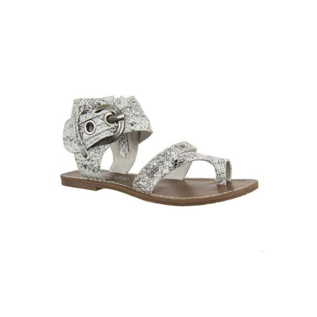 Lpb - sandales - nu pieds pensee blanc 37 - pas cher Achat   Vente Sandales  et tongs femme - RueDuCommerce 7dc225f8b812