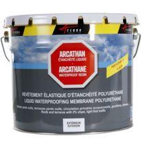 Arcane Industries - Etanchéité toiture plate terrasse toit plat membrane résine polyuréthane Arcathan - Couleur : rouge brique - Contenance : 4 kg