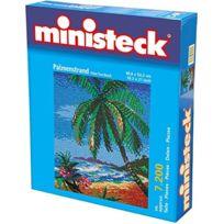 Ministeck - Tropisch Strand, 5.900 Delig, 53,3 X 66,6 Cm, Inc. Grondplaat